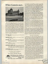 1955 PAPER AD Mobaco Yacht Navajo Sequoia Apache Mohawk Zuiderzee Boat