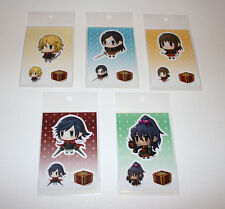 Artnia Sticker Collection Final Fantasy Type-0 Pictlogica Set of 5 EXCLUSIVE