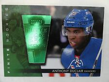 Anthony Duclair `14/15 Upper Deck SPx Finite Rookie Card 191/199 Arizona Coyotes