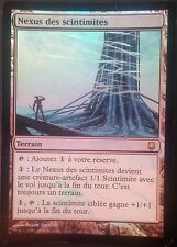 Nexus des Scintimites PREMIUM / FOIL VF - French Blinkmoth Darksteel -  Mtg Exc1