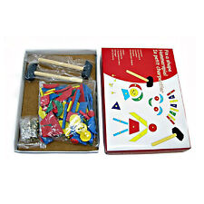 NEW Wooden Tap A Shape  Educational Toy Hammers & Nails