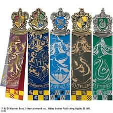 Harry Potter - Hogwarts House Crest Bookmark Set - New & Official Warner Bros