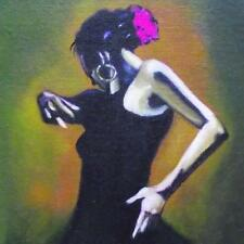 Flamenco Dancer 2 : Daily Impressionist Original Oil Painting by Terry  Wylde