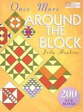 Once More Around the Block by Judy D. Hopkins (2003, Hardcover) Like New
