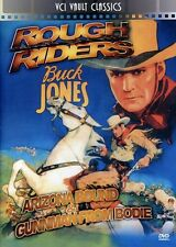 Rough Riders: Western Double Feature Volume 1 (2011, REGION 0 DVD New) DVD-R