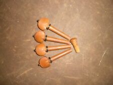 20 PCs JUJUBE Violin pegs B TYPE with 5 PCs Jujube End pin All in 4/4