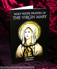 HOLY WATER PRAYERS OF THE VIRGIN MARY  Finbarr Occult.  Magic. Carl Nagel  RARE!