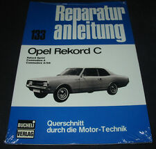 Reparaturanleitung Opel Rekord C / Sprint / Commodore A / Commodore A / GS NEU!