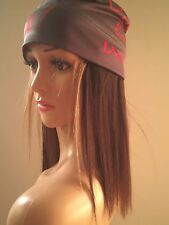 NUYU hats with 100% human hair, head covering for hair loss & chemo wigs