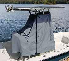 "Universal T-Top Center Console Trailerable Cover 48""W X 60""L X 66""H GREY GRAY"
