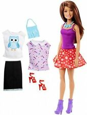 Barbie Teresa Doll Fashionistas W/ Shoes & Accessories Giftset