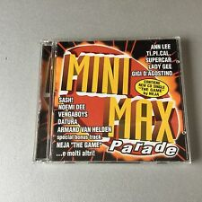 VINTAGE 90s#COMPILATION - MINI MAX PARADE DOPPIO CD DANCE