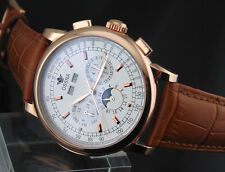 Ossna 42mm Rose Gold Stainless steel case Automatic Movement mens watch 1608