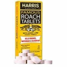 NEW HARRIS HRT-6 OVER 100 FAMOUS BORIC ACID ROACH KILLER TABLETS WORKS SALE