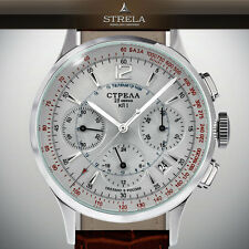 STRELA | Poljot Chrono 31681 | OFFICER OF38CYM24h russian mechanical space watch