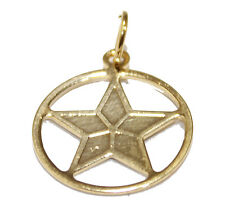 Pentagram Pendant 18K Gold Plated with 18 inch Chain - Pentagram Necklace