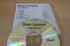 SEAN LENNON - FRIENDLY FIRE -!!!!!!!!!! FRENCH PROMO CD