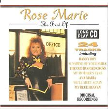 ROSE Marie: the Best of Rose Marie/CD (Castle MAT CD 217) - come nuovo