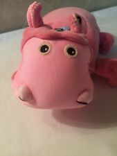 Zoonies Baby HADA THE HIPPO 3-1 Baby Toy/Pillow/Blanket - ALL AGES
