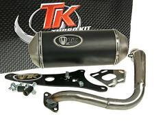 Échappement sport turbo Kit GMAX 4t pour HONDA LEAD 100 à 2007