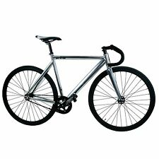 Prime Fixie Fixed Gear Track Bike Bicycle Alloy Frame Chrome Size: 50 53 55 59cm