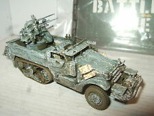 Corgi CC60405 M3 ( M16) Quad Gun Anti Aircraft Halftrack US Army Diecast in 1:50