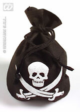 NEW PIRATE POUCH ACCESSORY FOR PIRATE PETER PAN PIRATES TREASURE FANCY DRESS