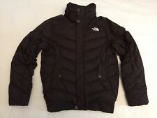 NORTH FACE DARK BROWN SHORT TEMPEST RECCO JACKET COAT SIZE SMALL