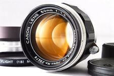 [Excellent+++] Canon 50mm F/1.4 Leica Screw Mount LTM L39 Lens from Japan #372