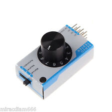 3-channel Servo Tester Servo Consistency Master Tester for RC Airplane Car