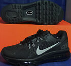 Womens Nike Air Max+ 2013 Black Silver Sport Grey SZ 9 ( 555363-001 )
