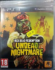 RED DEAD REDEMPTION:UNDEAD NIGHTMARE Sony PlayStation 3 2010 -PAL-