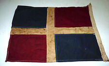 Vtg Nautical Ship Boat Yacht Symbol Signal Flag Pennants Marine Code Double Side