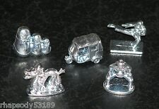 Monopoly Asia tokens Here & Now World game parts mini figures metal token set