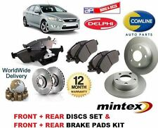 FOR FORD MONDEO 2007-2014 FRONT + REAR BRAKE DISCS SET + DISC PADS KIT