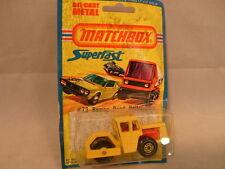 1976 MATCHBOX LESNEY SUPERFAST 72 BOMAG ROAD ROLLER MOC