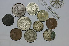 AFRICA & ISLAMIC MANY OLD COINS LOT A60 U19