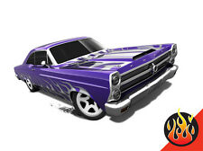 Hot Wheels Cars - '66 Ford 427 Fairlane Purple