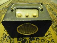 vintage valve radio Ever Ready Sky Queen battery operated.