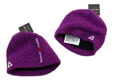 Reebok CROSSFIT Damen Winter Mütze Fleece Skimütze Strickmütze WARM Beanie lila