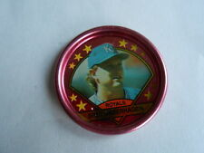 Vintage 1990 Topps Baseball Cards Kansas City Royals Bret Saberhagen Token Coin