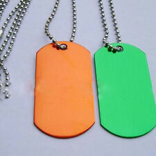 10 Pcs Random Color Tags for Pets With Personalised Engraving Metal Dog Tag Hot