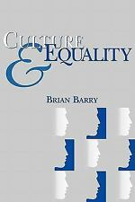Culture and Equality : An Egalitarian Critique of Multiculturalism by Brian...