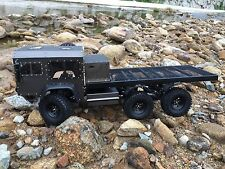 RC 6x6 Full Metal Military Truck ARTR with Wooden Box, shipping now