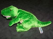 """Mary Meyer Flip Flops Extremely Relaxed Animals T Rex DINOSAUR Dino 15"""" Plush!"""