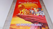 LE ROI LION ! affiche cinema animation bd disney