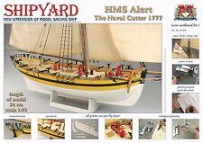 "Unique, New model ship kit by Shipyard: the ""HMS Alert"""