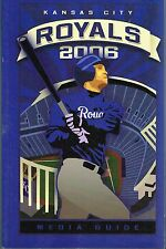 2006 Kansas City Royals MLB Baseball Media GUIDE
