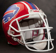 BRUCE SMITH BUFFALO BILLS Schutt NJOP-SW Football Helmet FACEMASK - WHITE