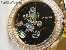 Invicta Womens Disney® 38mm Limited Edition Crystal Accented /3 Slot Dive Case
